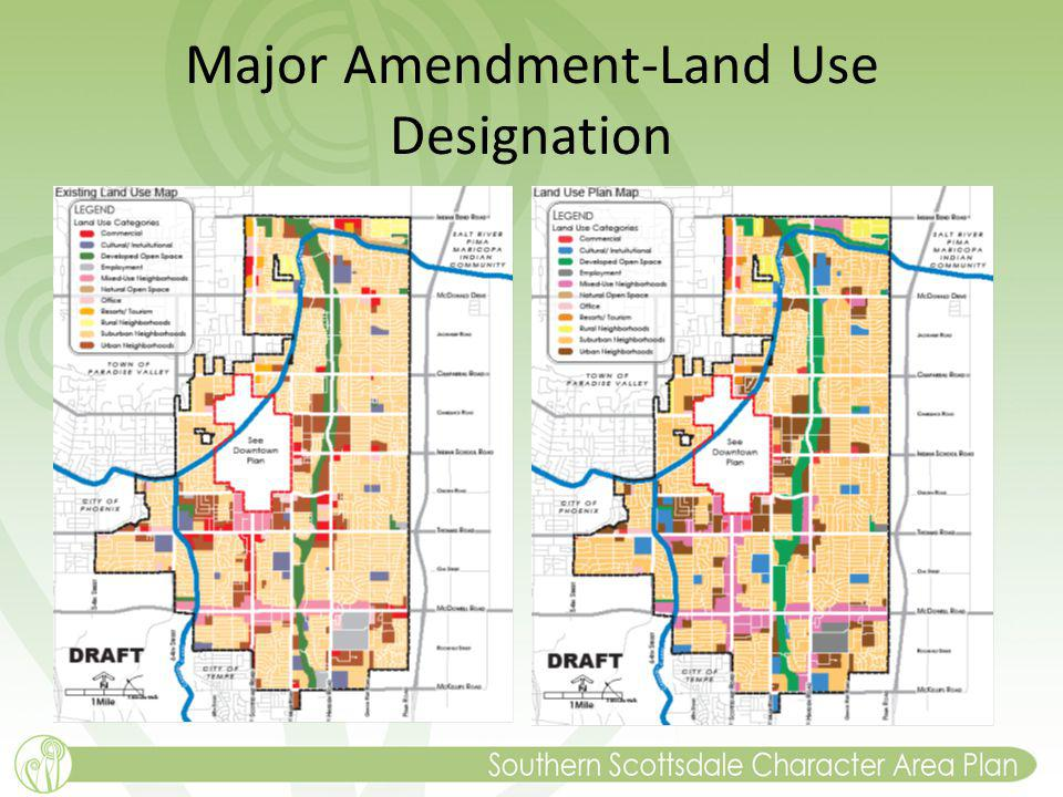 Major Amendment-Land Use Designation