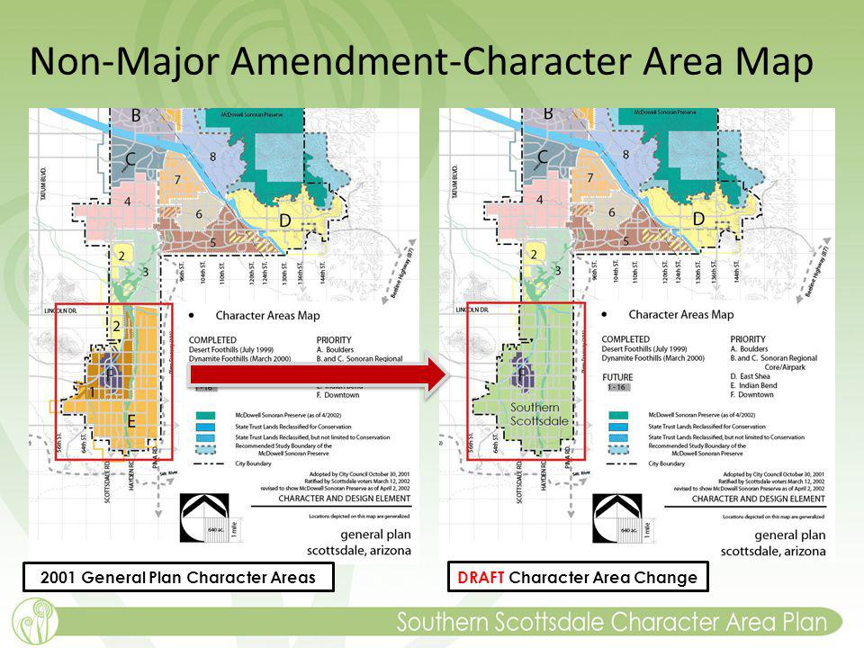 Non-Major Amendment-Character Area Map