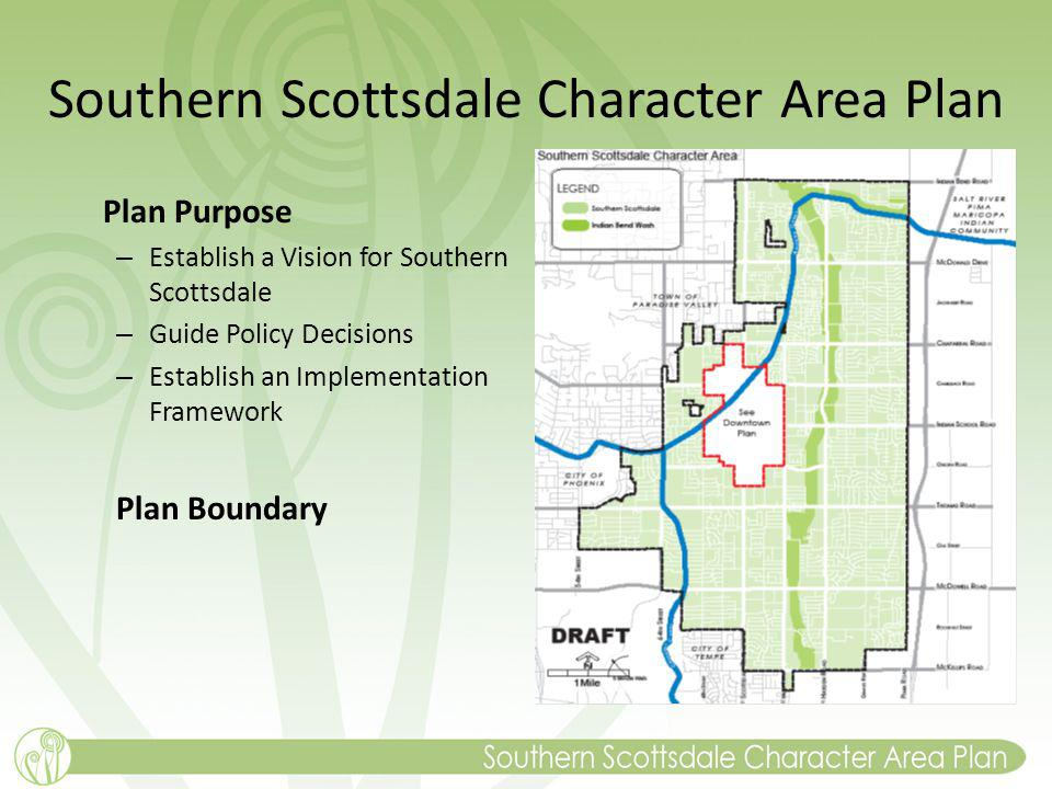 Southern Scottsdale Character Area Plan