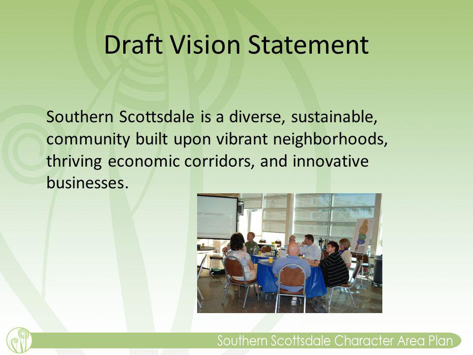 Draft Vision Statement