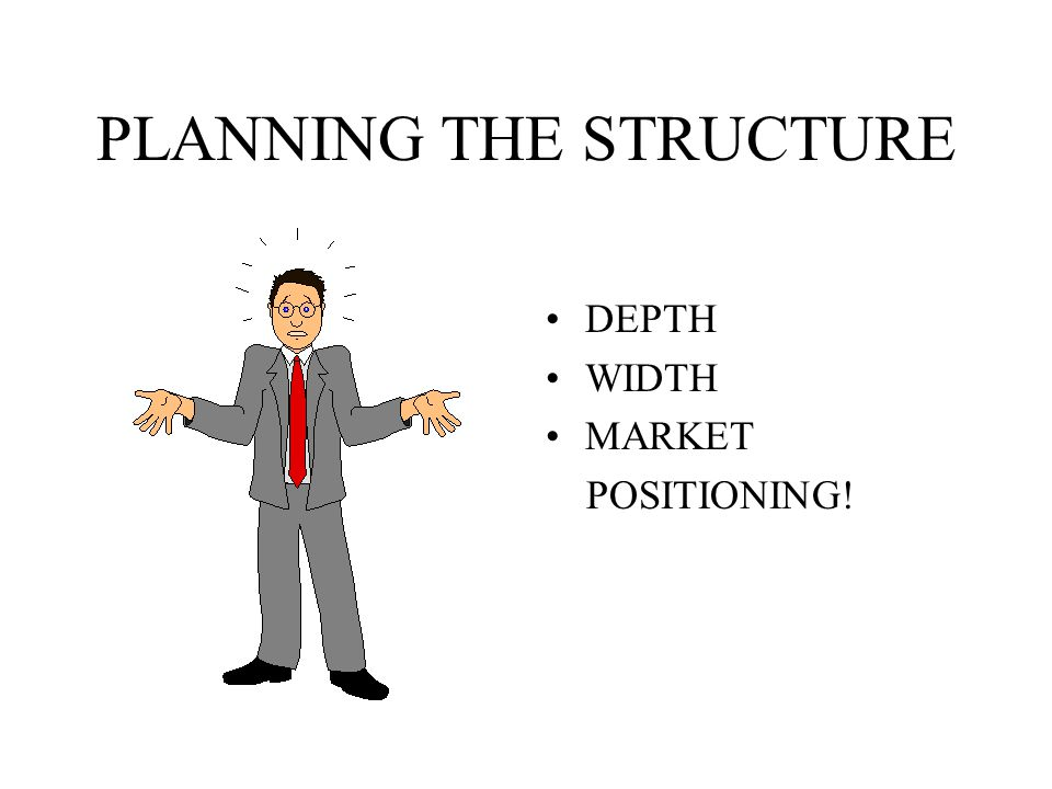PLANNING THE STRUCTURE