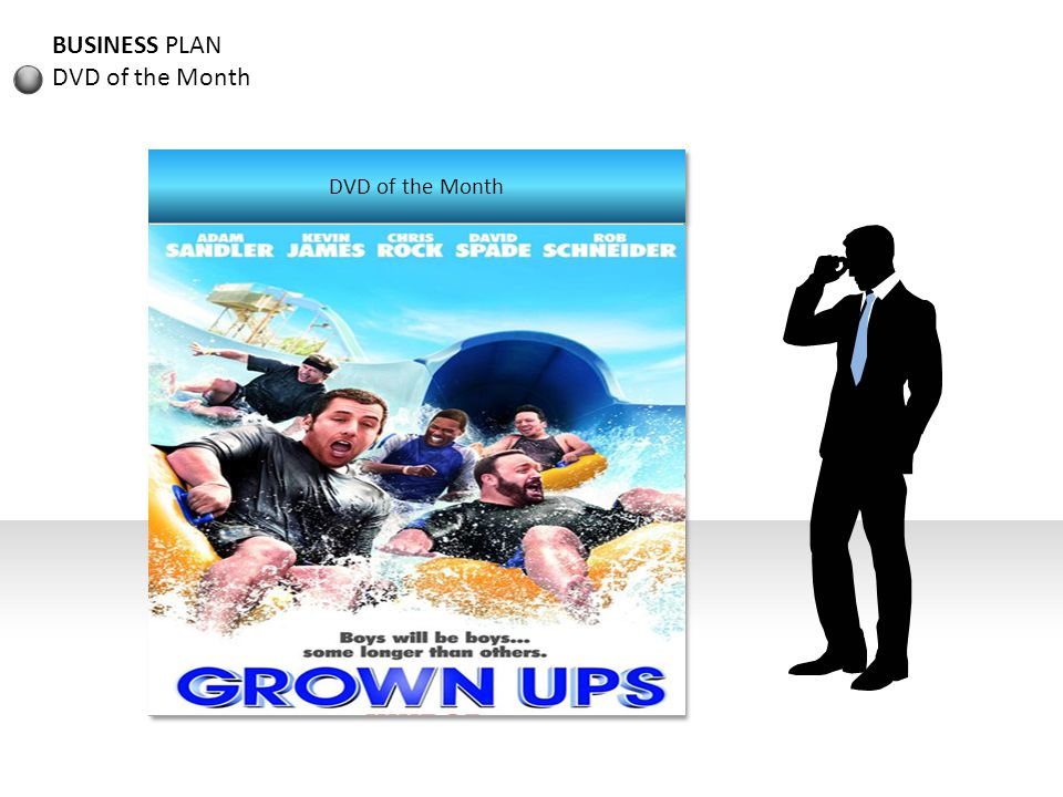BUSINESS PLAN DVD of the Month DVD of the Month