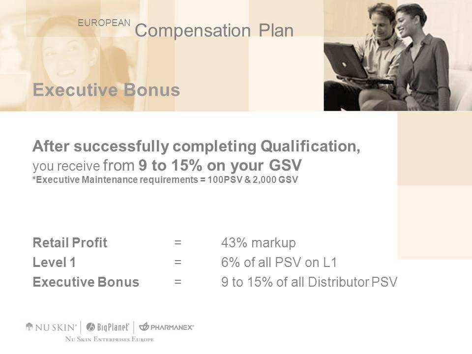 Compensation Plan Executive Bonus