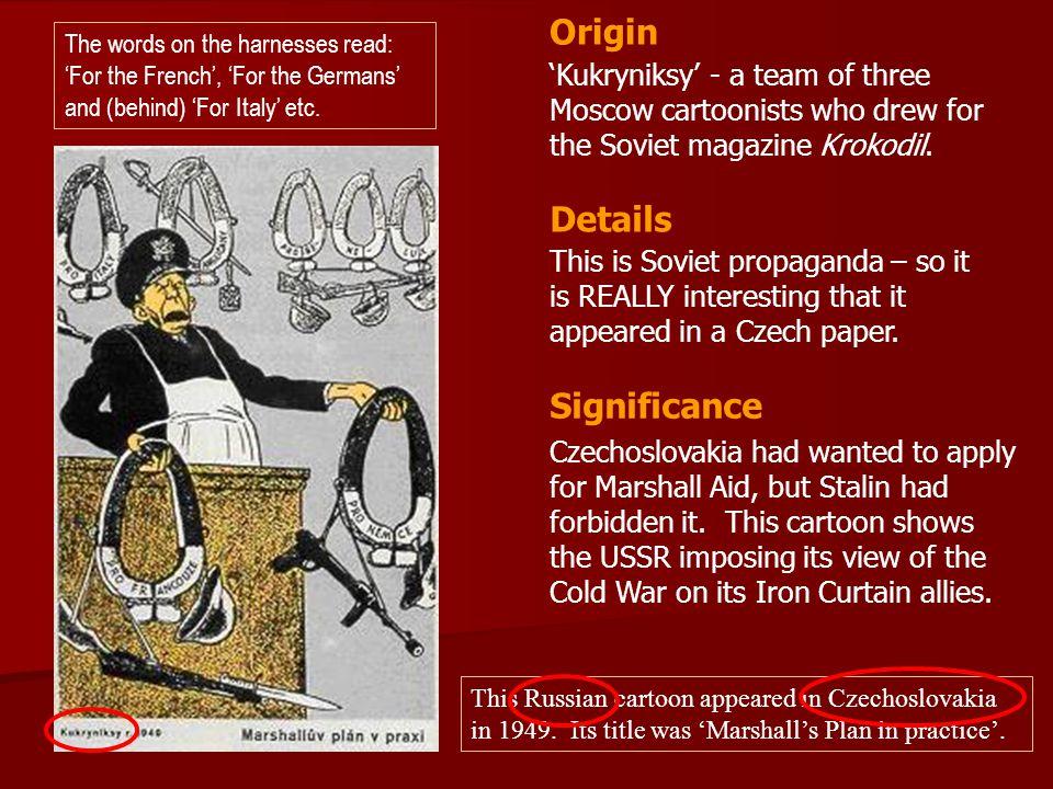 Origin Details Significance