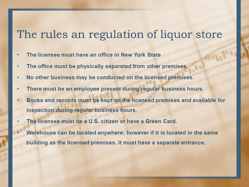 International Liquor Stores Co. - ppt video online download