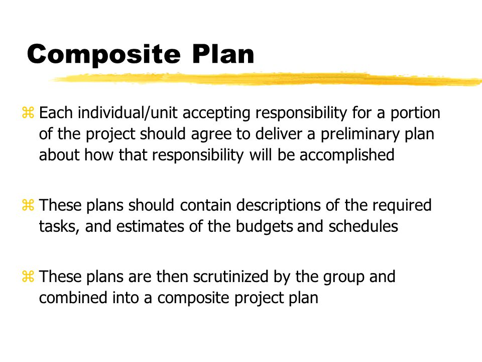 Composite Plan