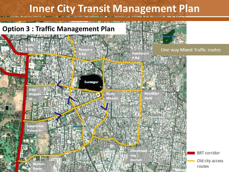 Inner City Transit Management Plan