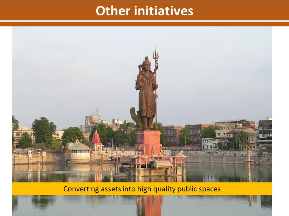 Converting assets into high quality public spaces