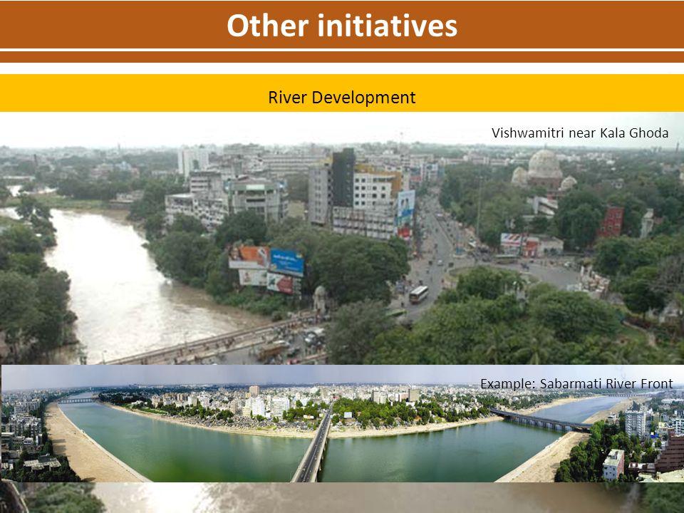 Other initiatives River Development Vishwamitri near Kala Ghoda