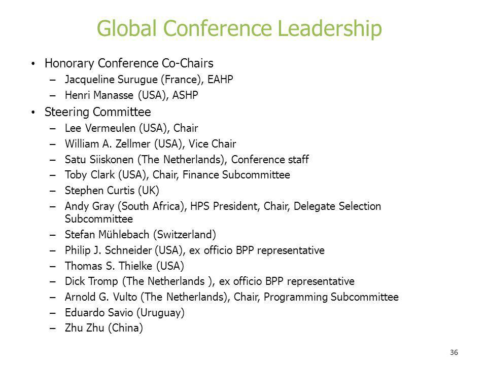 Global Conference Leadership