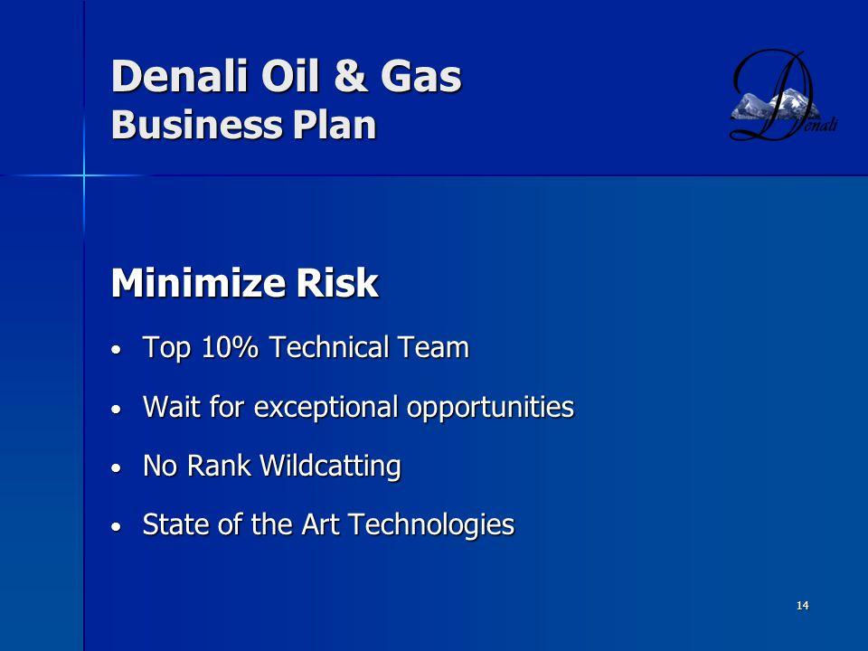 Denali Oil & Gas Business Plan