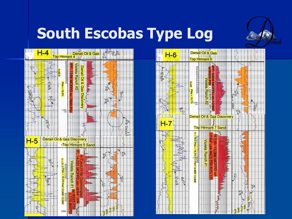 South Escobas Type Log