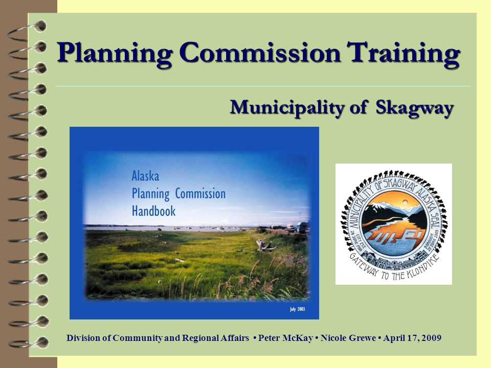 Planning Commission Training