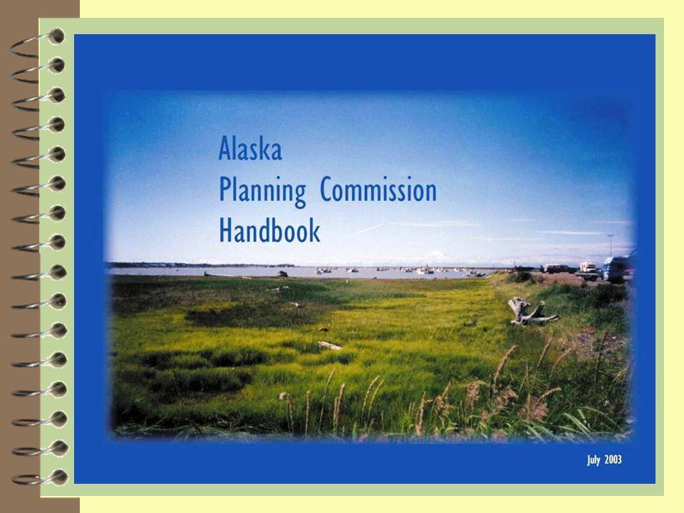 Alaska Planning Commission Handbook: