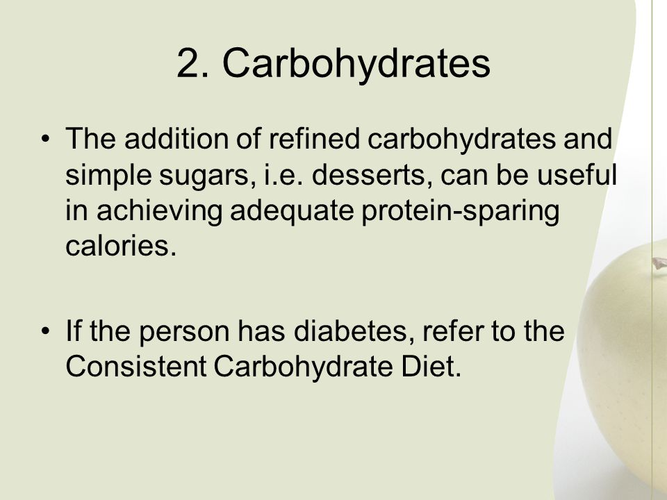 2. Carbohydrates