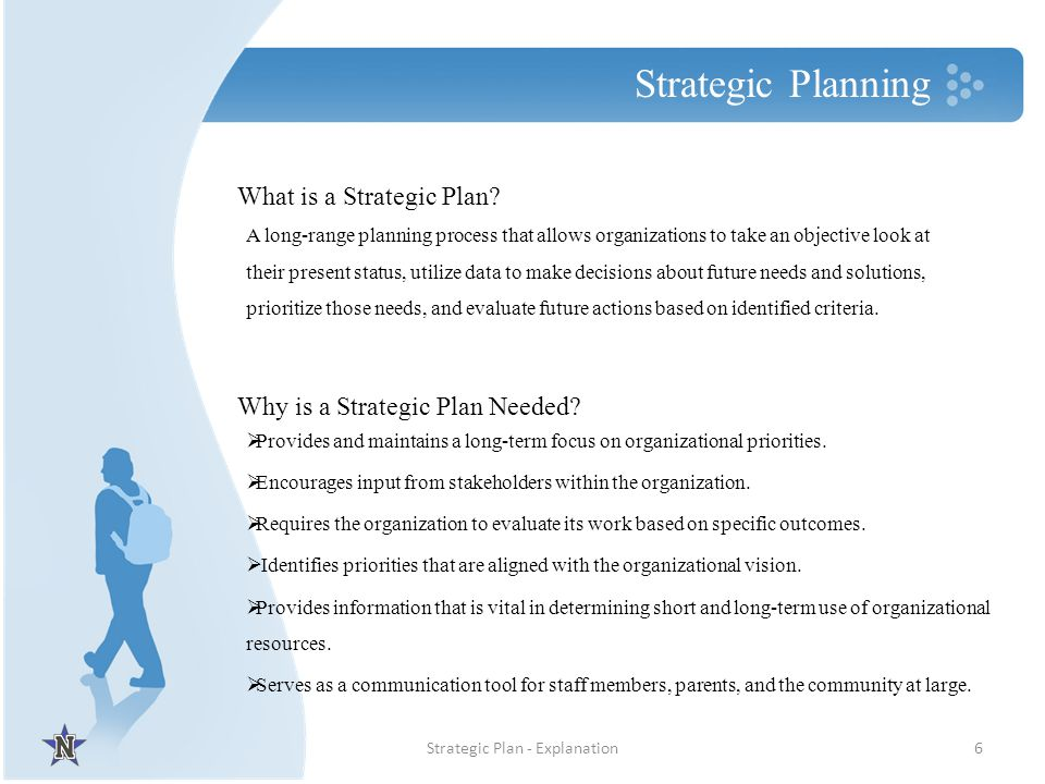Strategic Plan - Explanation