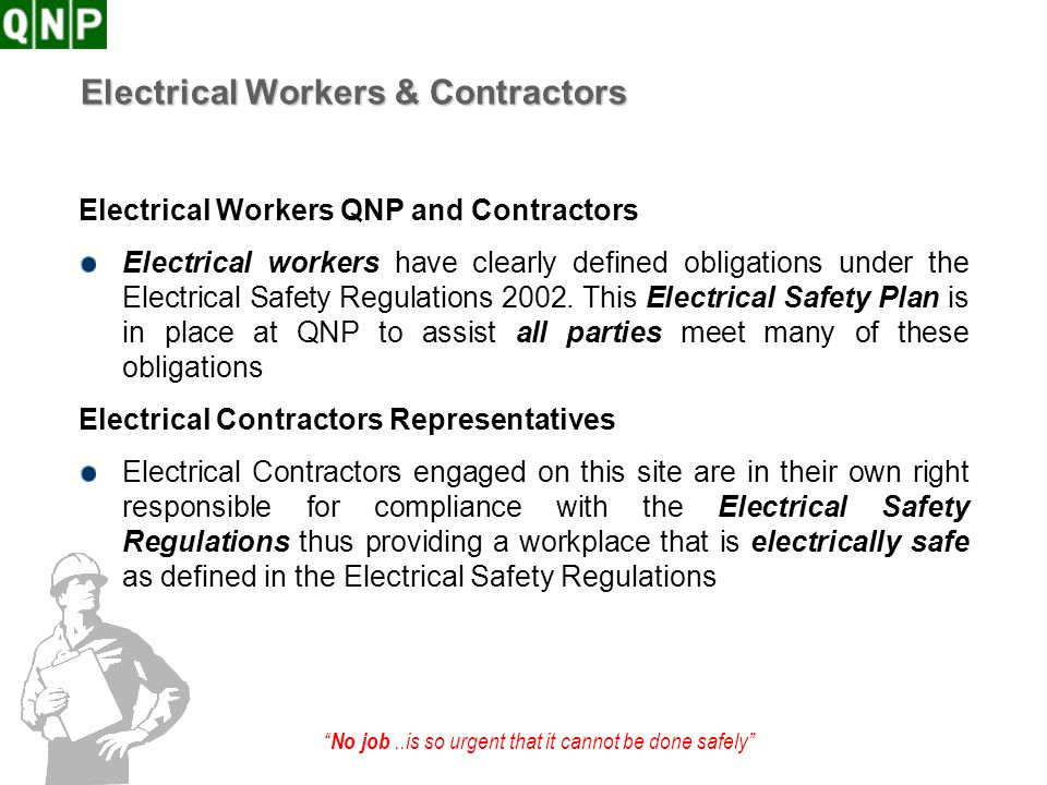 Electrical Workers & Contractors