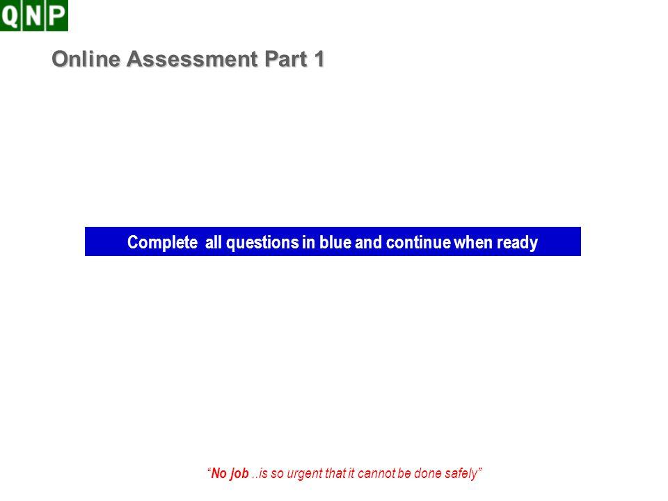 Online Assessment Part 1