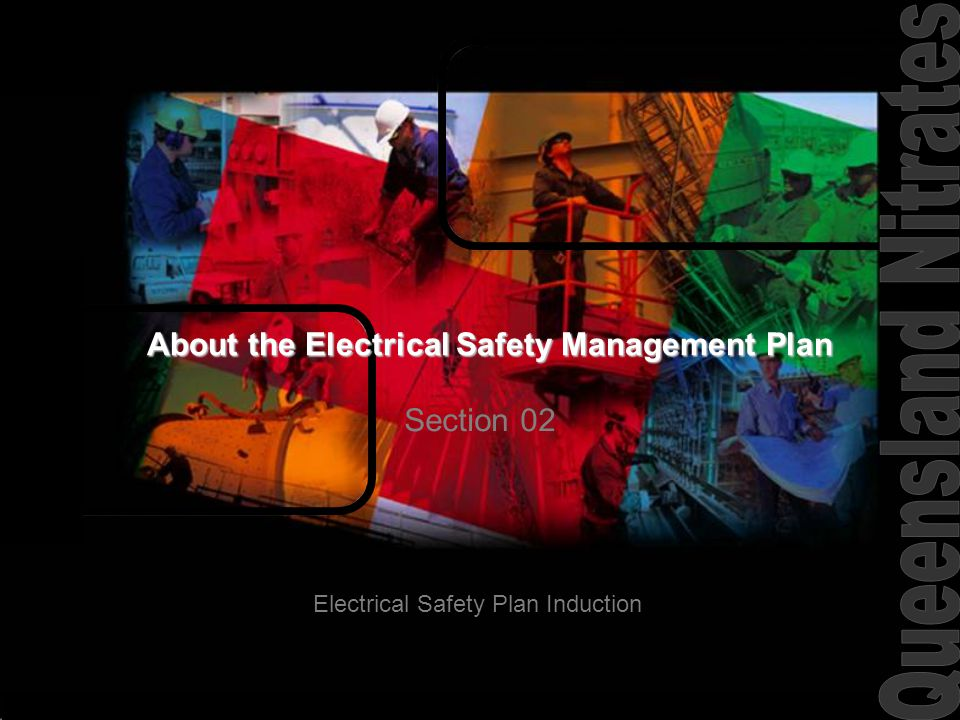 About the Electrical Safety Management Plan