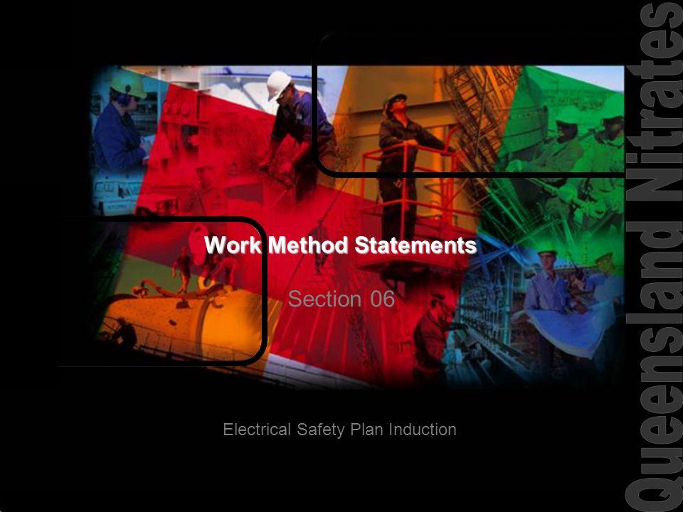 Work Method Statements