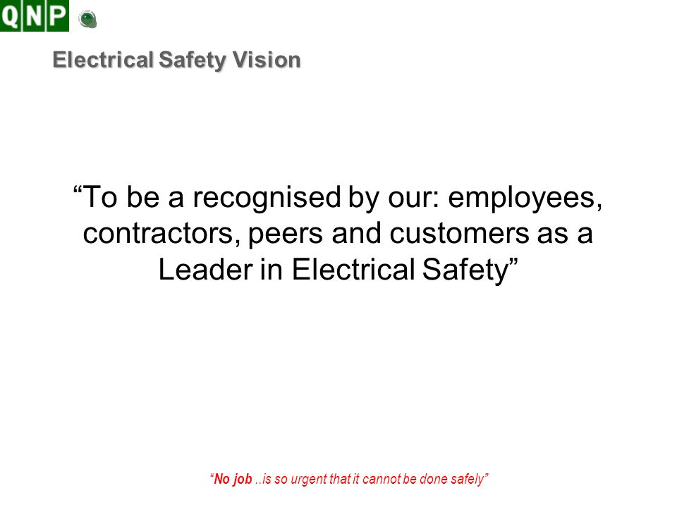 Electrical Safety Vision