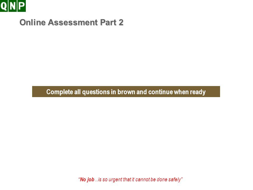 Online Assessment Part 2