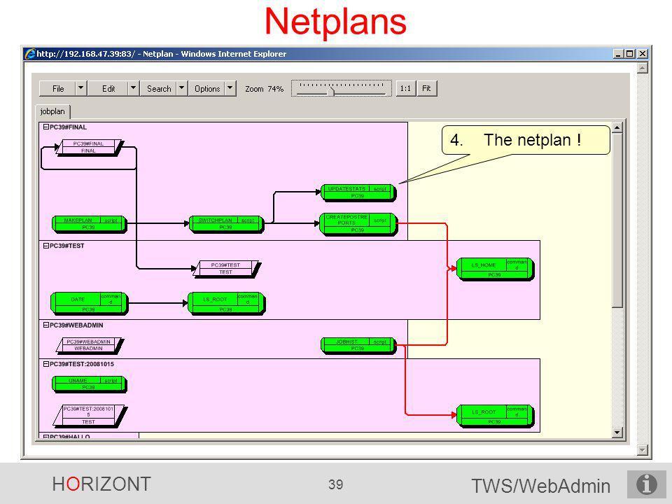 Netplans The netplan !