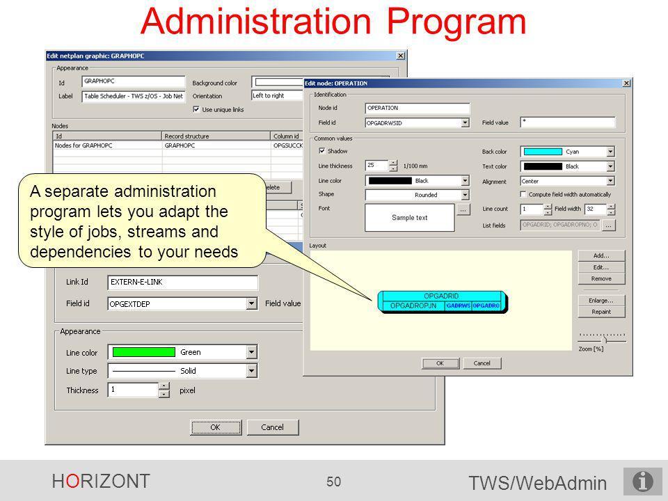 Administration Program