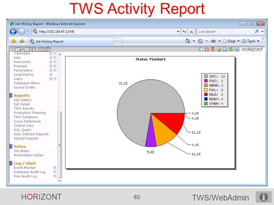 TWS Activity Report