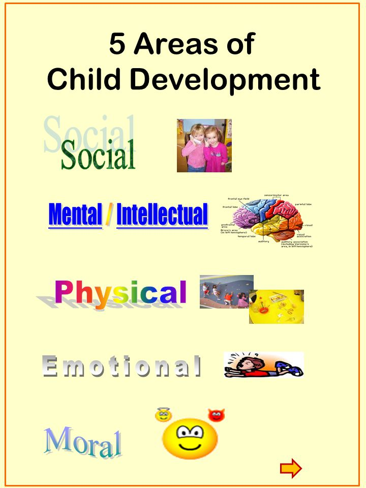 5 Areas of Child Development