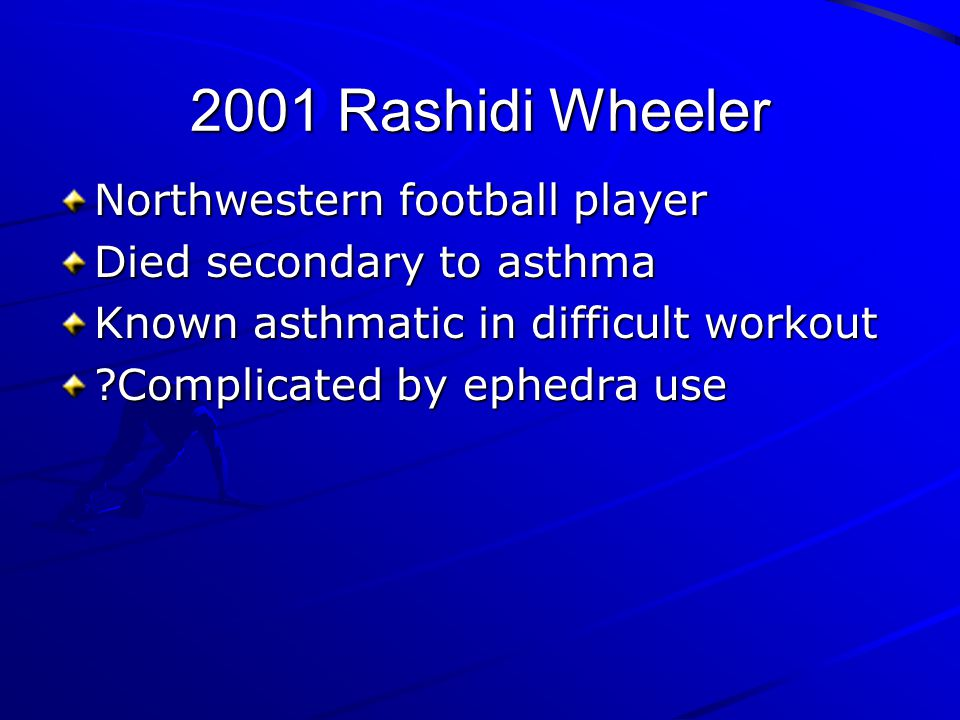2001 Rashidi Wheeler Northwestern football player