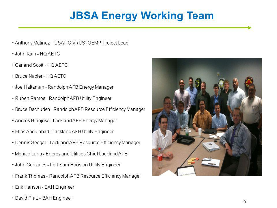 JBSA Energy Working Team