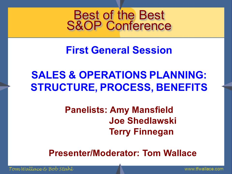 Best of the Best S&OP Conference