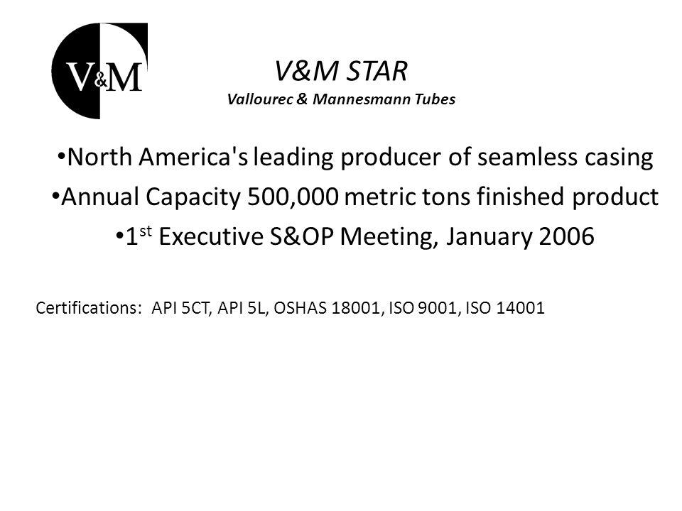 V&M STAR Vallourec & Mannesmann Tubes