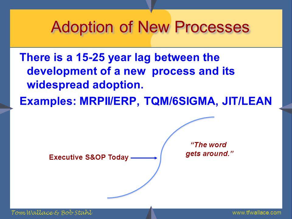 Adoption of New Processes