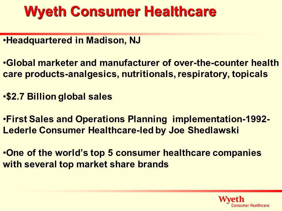 Wyeth Consumer Healthcare