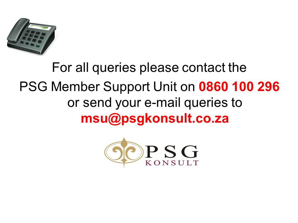 For all queries please contact the