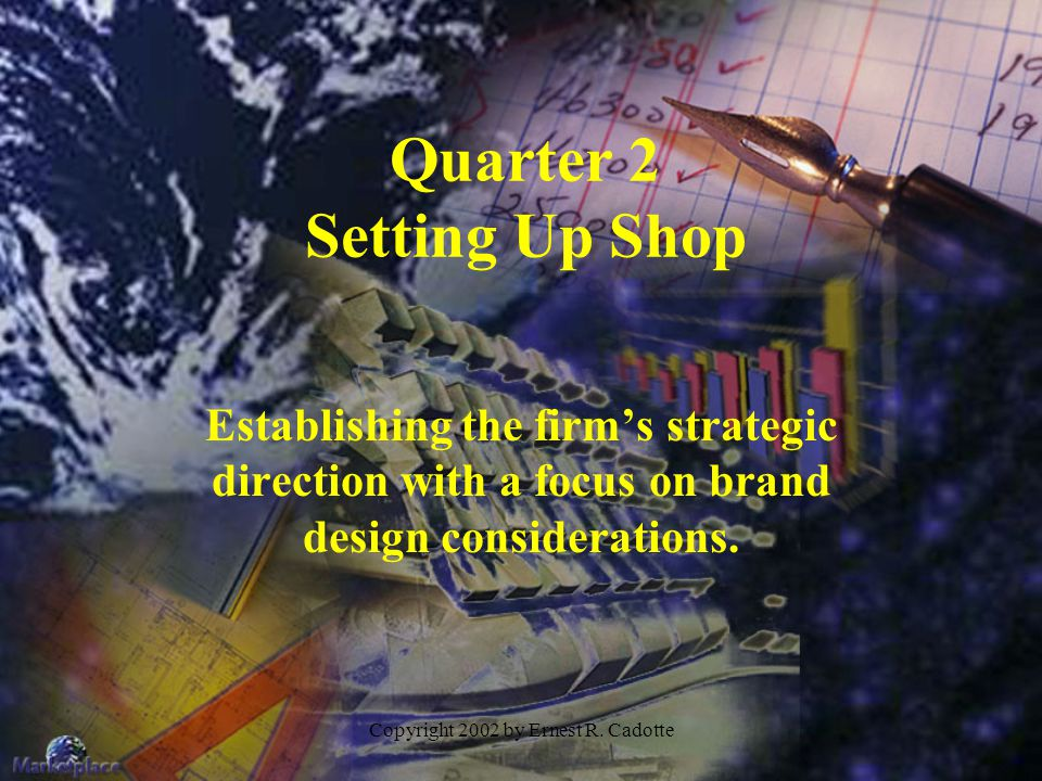 Quarter 2 Setting Up Shop