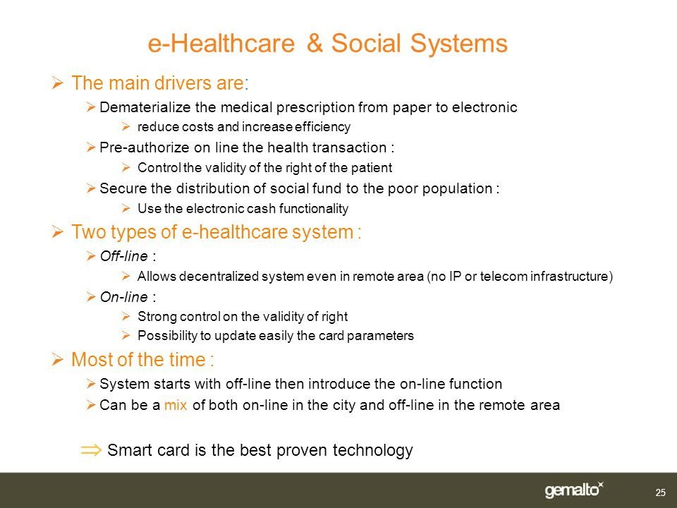 e-Healthcare & Social Systems