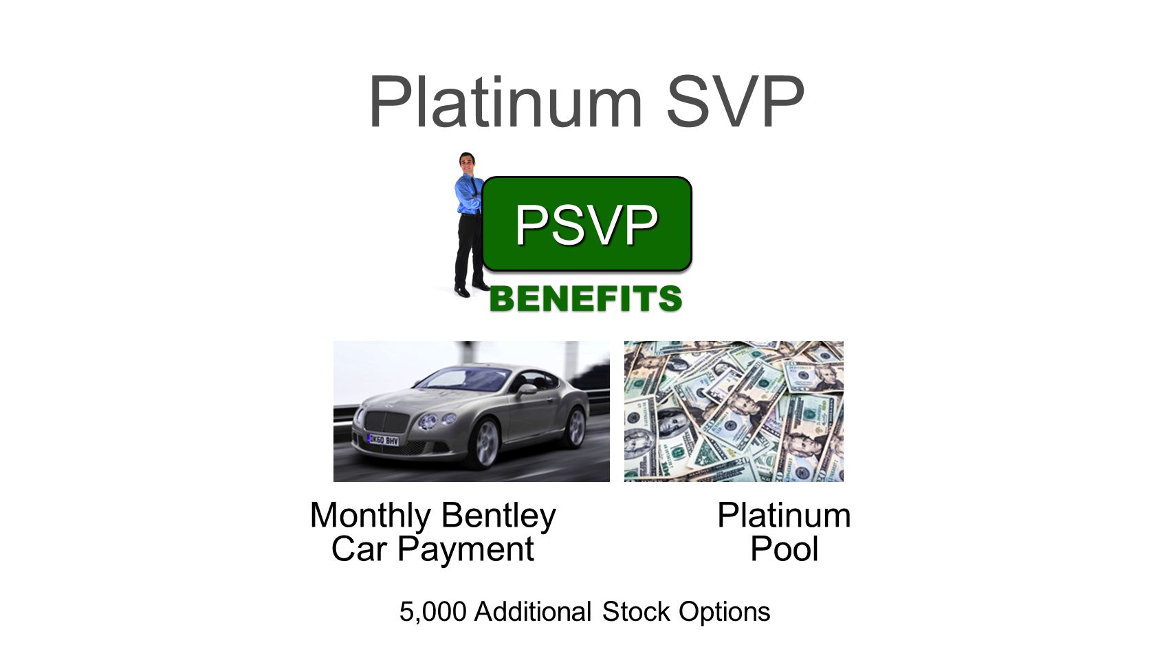 Platinum SVP PSVP BENEFITS Monthly Bentley Car Payment Platinum Pool