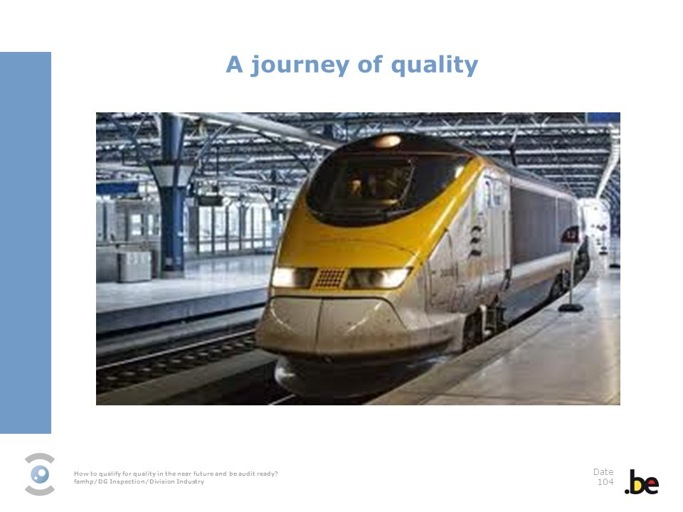 A journey of quality