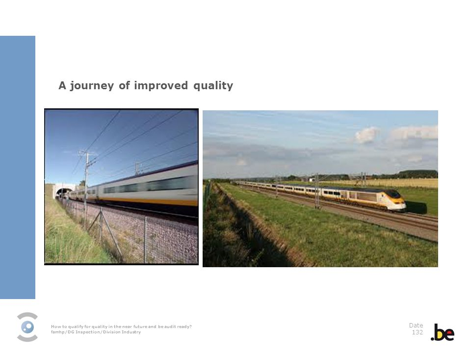 A journey of improved quality