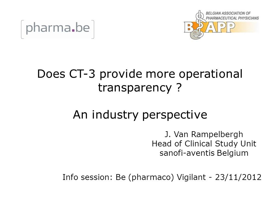 Does CT-3 provide more operational transparency