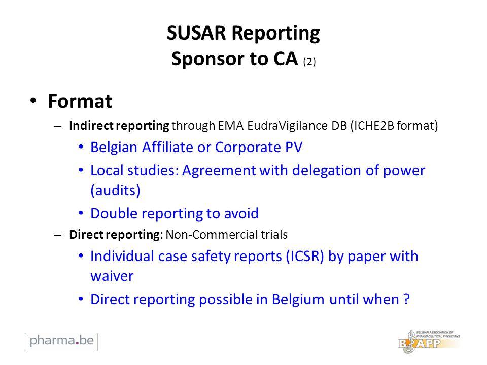 SUSAR Reporting Sponsor to CA (2)