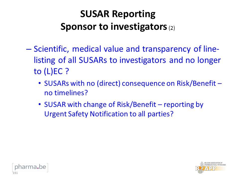 SUSAR Reporting Sponsor to investigators (2)