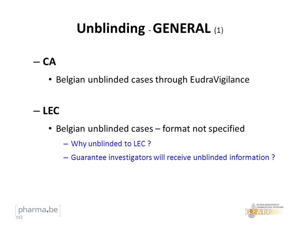 Unblinding - GENERAL (1)
