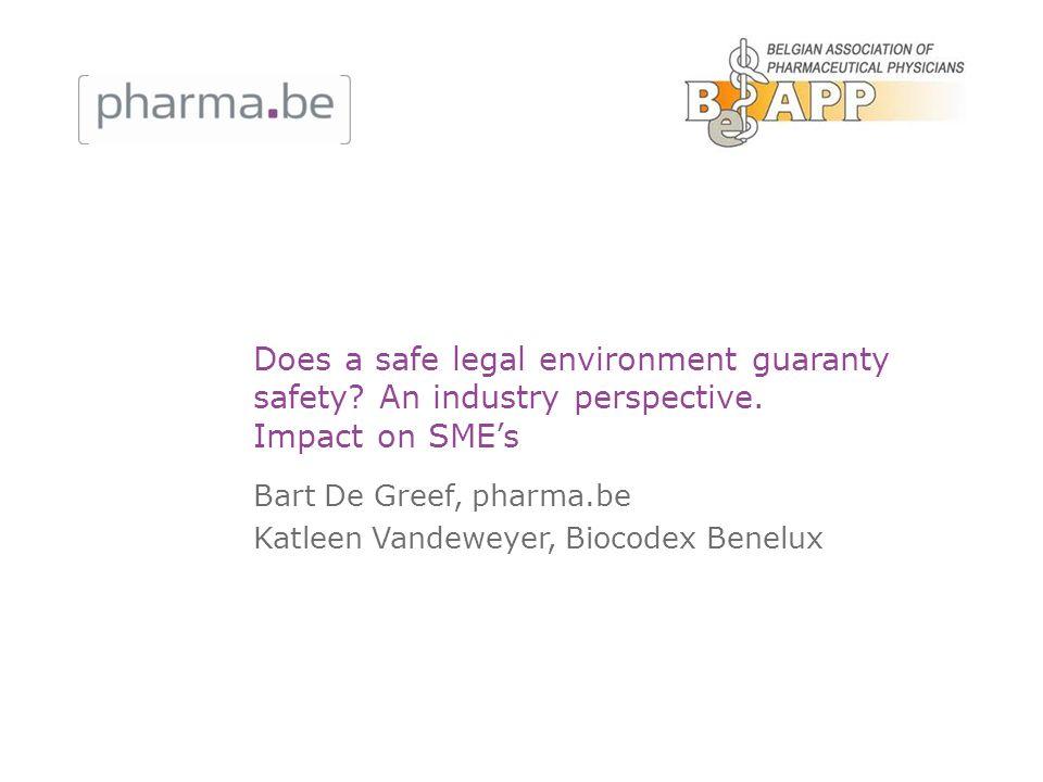 Bart De Greef, pharma.be Katleen Vandeweyer, Biocodex Benelux