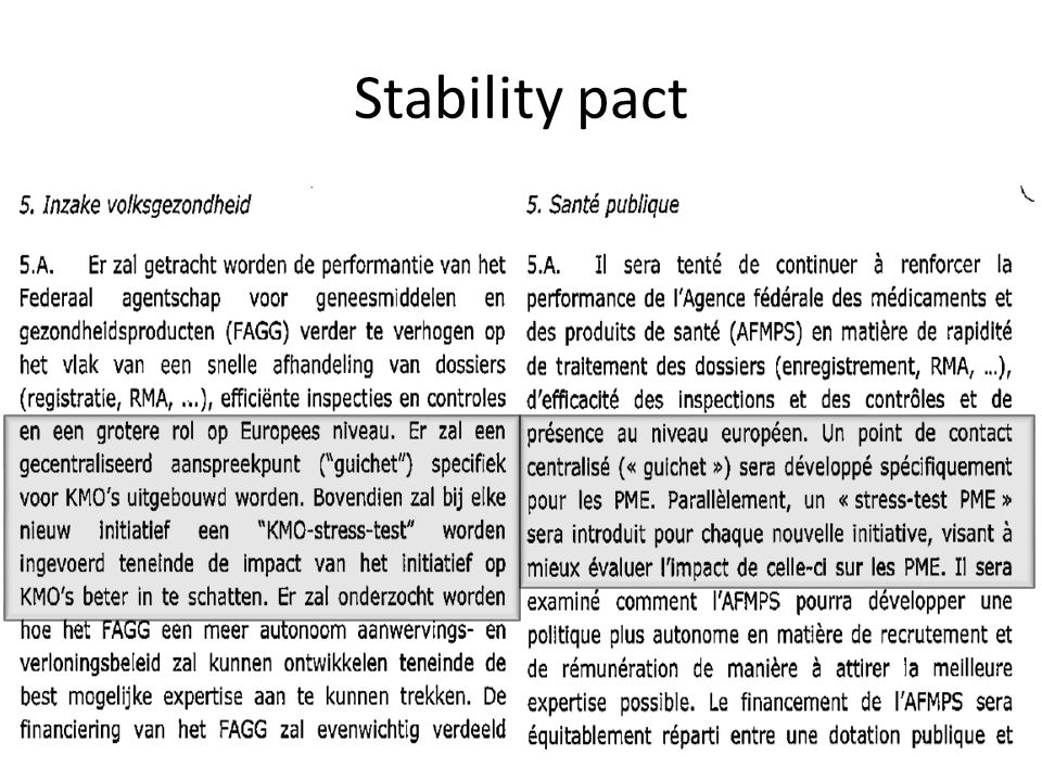Stability pact 1/04/2017