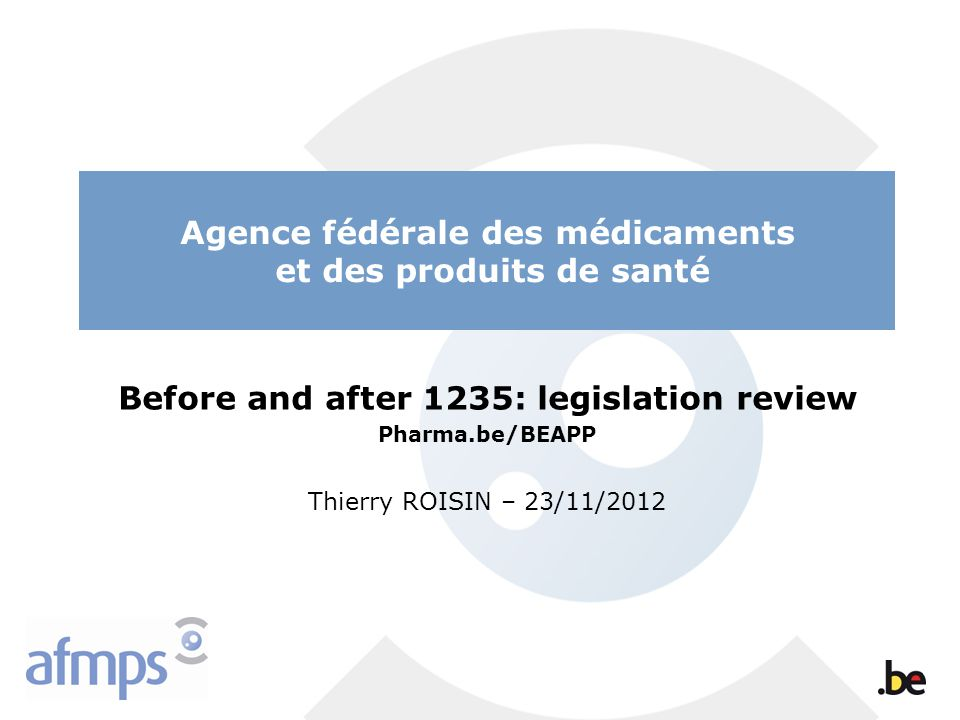 Before and after 1235: legislation review