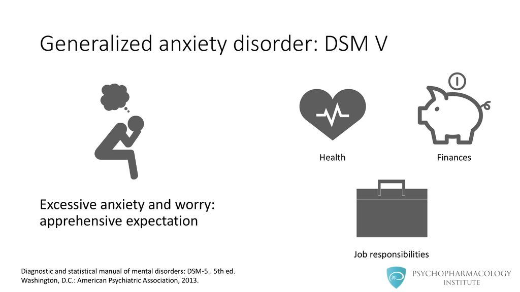 Generalized Anxiety Disorder: Clinical Features and